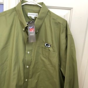GB Packers long sleeve button down
